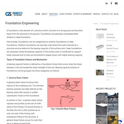 Foundation Engineering Services