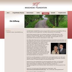 MASCHESKI FOUNDATION für humanitäres Handeln