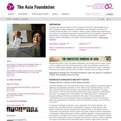 The Asia Foundation : Indonesia (Overview)