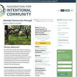 Alentejo Community Portugal - Fellowship for Intentional Community