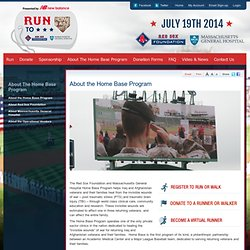 Red Sox Foundation and Massachusetts General Hospital Home Base Program 2010 Run to Home Base 9K