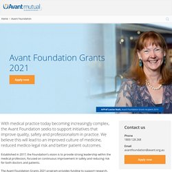 Avant Foundation - Funding Quality Medical Practice
