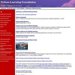 Python Learning Foundation