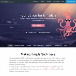 Ink: A Responsive Email Framework from ZURB