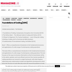 Foundations of Coding [2015] PDF download free