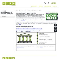 Course: Foundations of Flipped Learning / Course