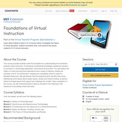 Foundations of Virtual Instruction
