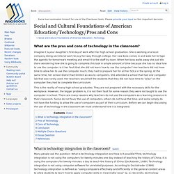 drawbacks of technology essay