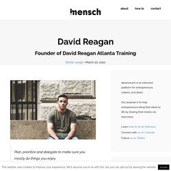 David Reagan - Founder of David Reagan Atlanta Training