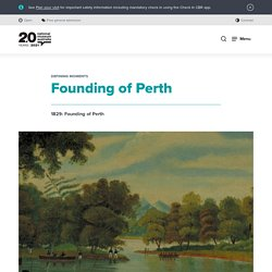Founding of Perth