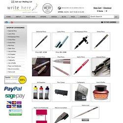 Write Here Pens