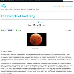 The Comets of God Blog