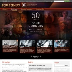 Four Corners 50 Years - Home