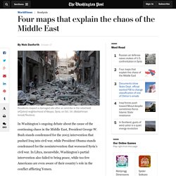 Four maps that explain the chaos of the Middle East