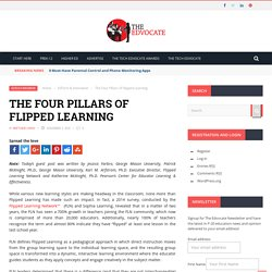 The Four Pillars of Flipped Learning