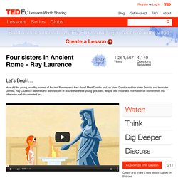 Four sisters in Ancient Rome - Ray Laurence