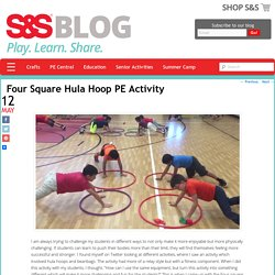 Four Square Hula Hoop PE Activity - S&S Blog