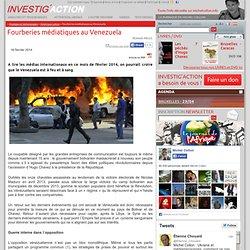 Fourberies médiatiques au Venezuela