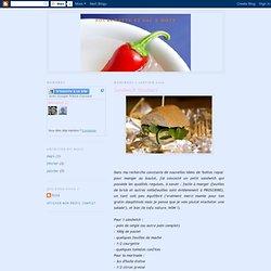 Fourchette et sac à mots: Sandwich Tandoori