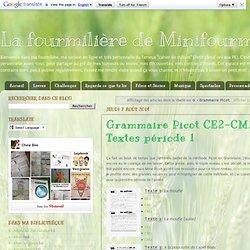 G - Grammaire Picot