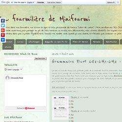 Grammaire Picot CE2-CM1-CM2 - Textes période 1