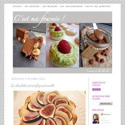 La charlotte poires/figues/vanille