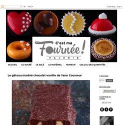 C'est ma fournée ! : Le gâteau marbré chocolat-vanille de Yann Couvreur