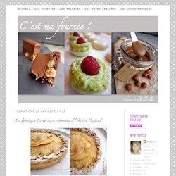 La féérique tarte aux pommes d'Olivier Bajard...