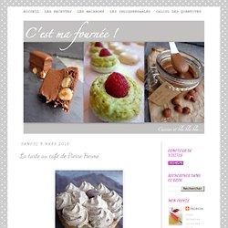 La tarte au café de Pierre Hermé