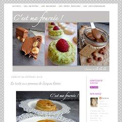 La tarte aux pommes de Jacques Génin