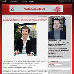 Portrait de Valérie Fourneyron, Ministre des Sports, de la Jeunesse, de l'Éducation populaire et de la Vie associative