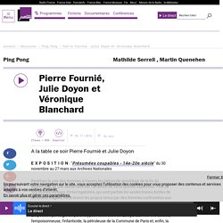 Pierre Fournié, Julie Doyon et Véronique Blanchard