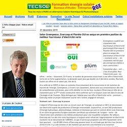 Selon Greenpeace, Enercoop et Planète OUI ex-aequo en première position du meilleur fournisseur d'électricité verte (Tecsol blog)