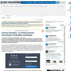 France Connect: La Poste second fournisseur d'identité numérique