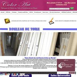 Ateliers du peintre - Fournitures Beaux arts et cimaise accrochage. Toile en Rouleau - Colorart