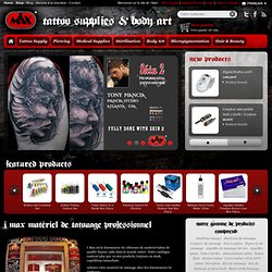 Fournitures de tatouage