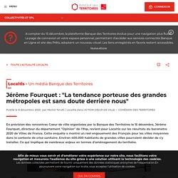 """Jérôme Fourquet : """"La tendance porteuse des grandes métropoles est sans doute derrière nous"""""""