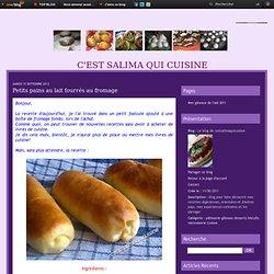 Petits pains au lait fourrés au fromage - Le blog de cestsalimaquicuisine