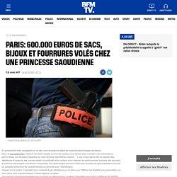 Paris: 600.000 euros de sacs, bijoux et fourrures volés chez une princesse saoudienne