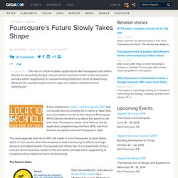 Foursquare's Future Slowly Takes Shape