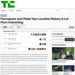 Location History A Lot More Interestin