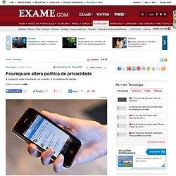 Foursquare altera política de privacidade
