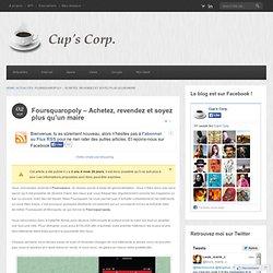 Foursquaropoly: un mix de Foursquare et de Monopoly