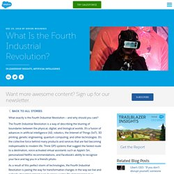 What is the Fourth Industrial Revolution and why you should care