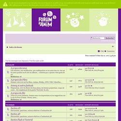 Page d'index