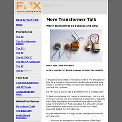 Fox Audio Research Home