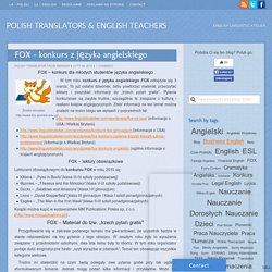 Fox - konkurs z języka angielskiego