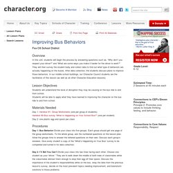 Improving Bus Behaviors (Grades K-12)