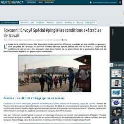 Foxconn : Envoyé Spécial épingle les conditions exécrables de travail