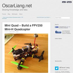 Mini Quad - Build a FPV250 Mini-H Quadcopter